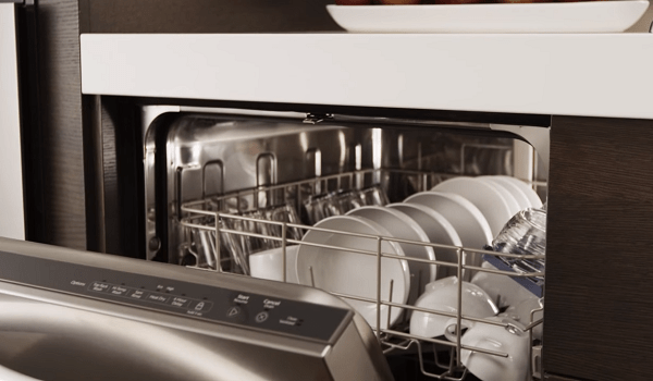 whirlpool dishwasher loading