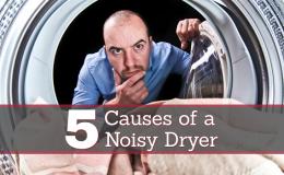 maytag dryer rumbling noise