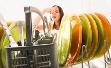 how to clean a frigidaire dishwasher