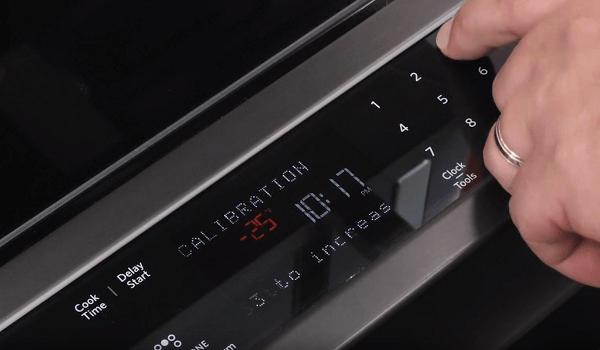 kitchenaid oven not reaching temperature