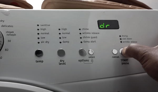frigidaire dryer stopped working