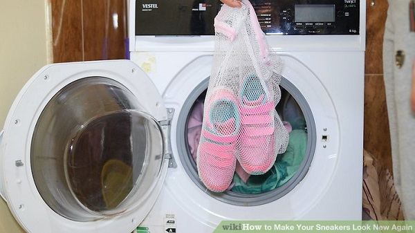 can shoes go in washing machine