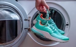 can you clean shoes in the washer